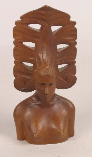 1006: PHILIPPINES WOOD CARVING