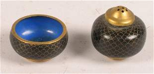 CHINESE ENAMELED PIECES