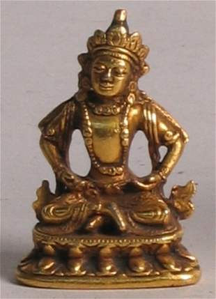 GILT BUDDHA