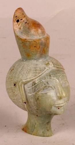 CAST OF EGYPTIAN QUEEN'S HEAD