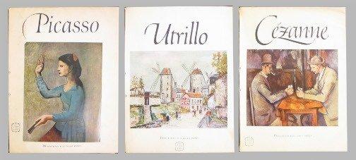 1583: CEZANNE, UTRILLO, PICASSO BOOK