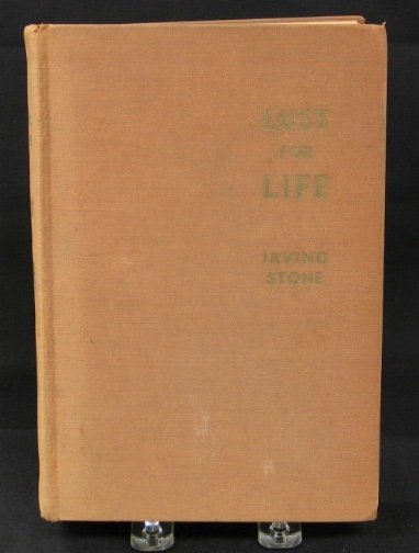 1584: SIGNED LUST FOR LIFE BOOK