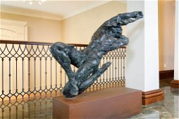 DYLAN LEWIS (SOUTH AFRICAN, BORN 1964) BRONZE