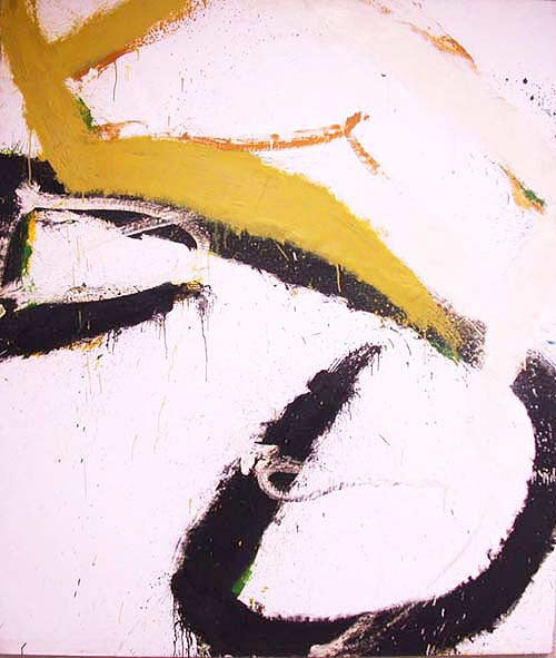 2388: NORMAN BLUHM PAINTING. Oil on canvas. E