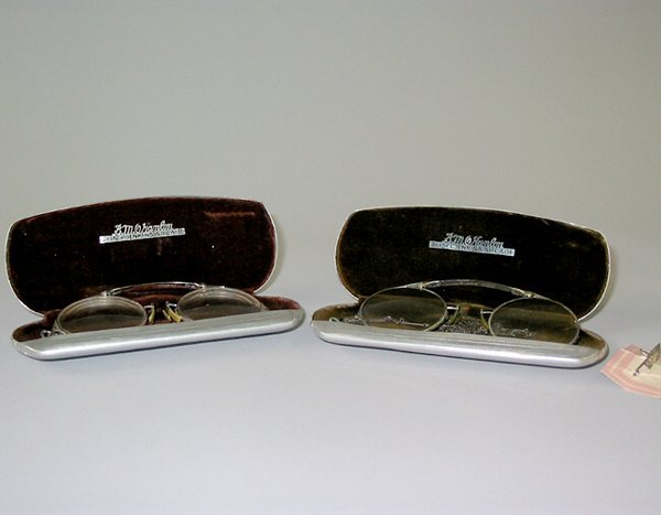2: 2 PAIRS OXFORD EYEGLASSES
