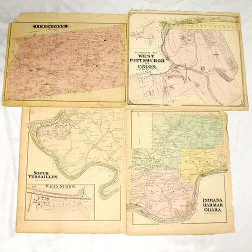 1004: MAPS OF WEST PA COMMUNITIES.