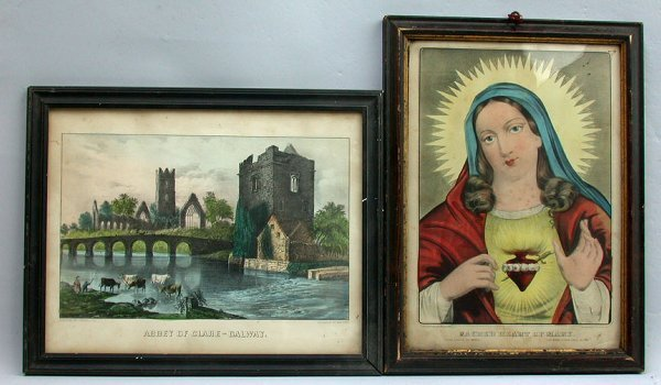 1021: CURRIER &IVES RELIGIOUS PRINTS