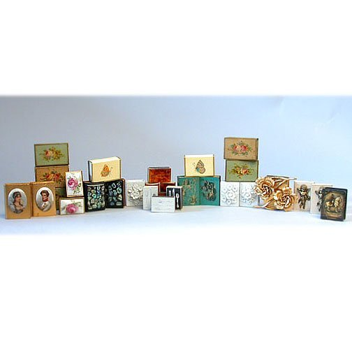 1005: COLLECTION OF MATCH BOX COVERS. N/R. In