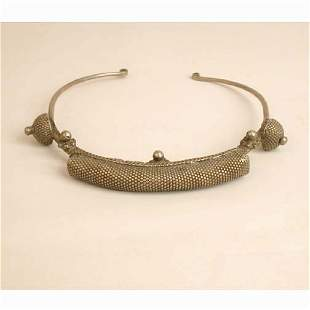 AFRICAN SILVER NECKLACE