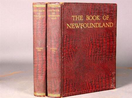 2625: BOOK OF NEWFOUNDLAND. Smallwood, J. R. (editor).