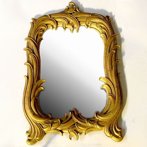 LOUIS XV STYLE FRAME. Cast material frame, overl