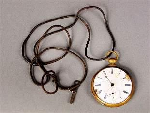 KEY WIND LIVERPOOL WATCH. Key wind pocket watch,