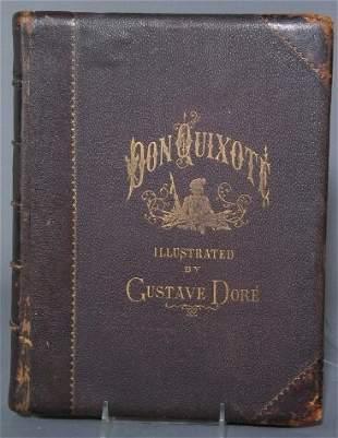 DON QUIXOTE, DORE ILLUS. Cervantes. The History o