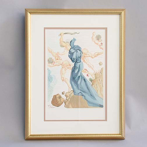 "1005: 1005 DALI LITHOGRAPH. Canto 15 from ""In"
