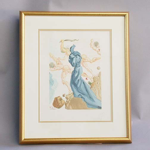 "1006: 1006 DALI LITHOGRAPH. Canto 15 from ""Th"