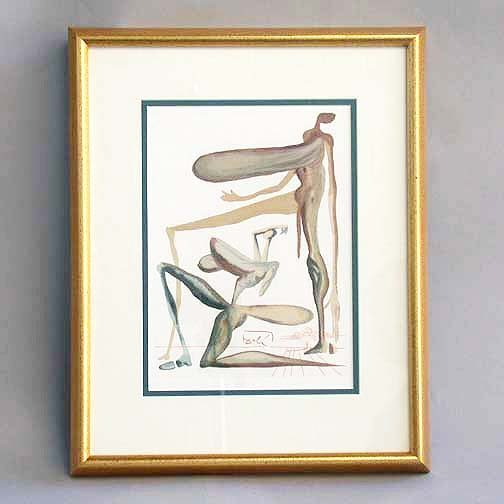 1011: 1011 DALI LITHOGRAPH. Canto 22 from Dan