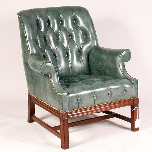 1563: 1563 BUTTON TUFTED ARMCHAIRS. Tradition