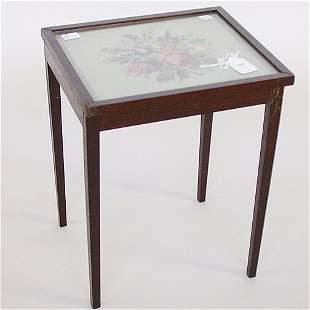 1559 HEPPLEWHITE STYLE TABLE WITH NEEDL