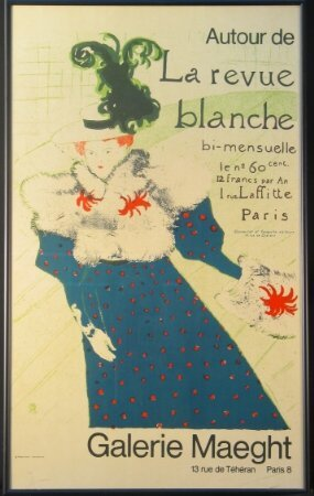 1386: FRENCH GALLERY MAEGHT POSTER