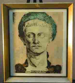 PAIR OF CONTEMPORARY ROMAN PORTRAITS