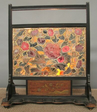 2001: PAINTED AND STAIN GLASS SCREEN