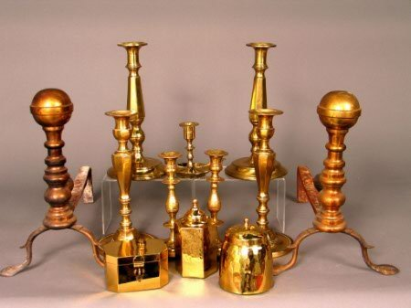2008: BRASS CANDLESTICKS AND OTHERS