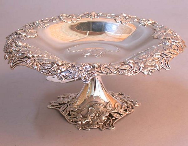 2012: 2012 TIFFANY STERLING COMPOTE Applied r