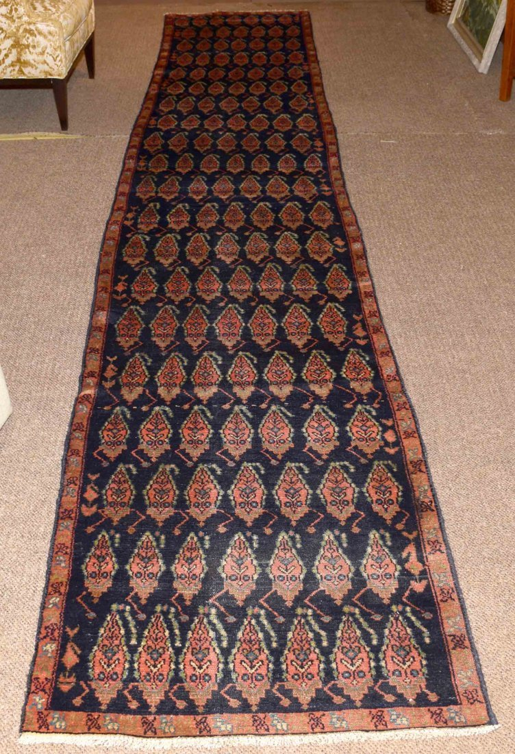 SEMI-ANTIQUE PERSIAN MALAYER RUNNER - Measures: 15'7''