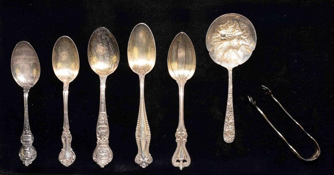 7pcs ASSORTED STERLING FLATWARE - Total weight 4.74 ozt