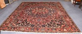 SEMI-ANTIQUE PERSIAN BAKHTIARI RUG - Measures: 10'8'' x