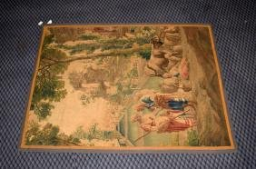 FRENCH AUBUSSON WOVEN TAPESTRY CIRCA MID TO LATE 1800'S