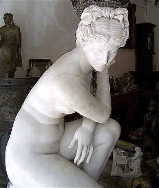 Italian Marble sculpture statue