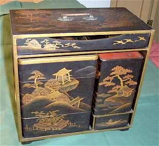 Antique Nippon picnic Box JU-BAKO