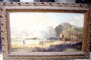 Signed seascape Oil paint Sweden