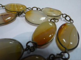 Fine Agate Necklace