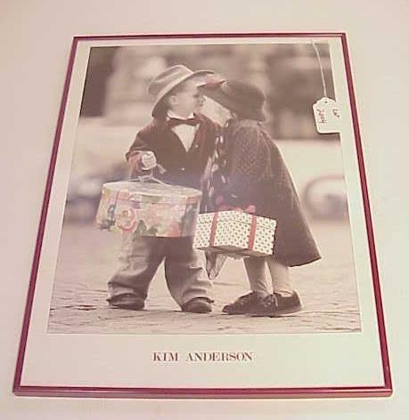 2004: KIM ANDERSON FRAMED POSTER CHILDREN NR
