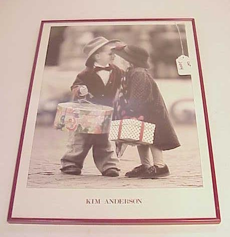 2004: KIM ANDERSON FRAMED POSTER CHILDREN NR