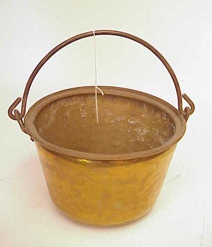 2020: HAMMERED BRASS BUCKET NO RESERVE