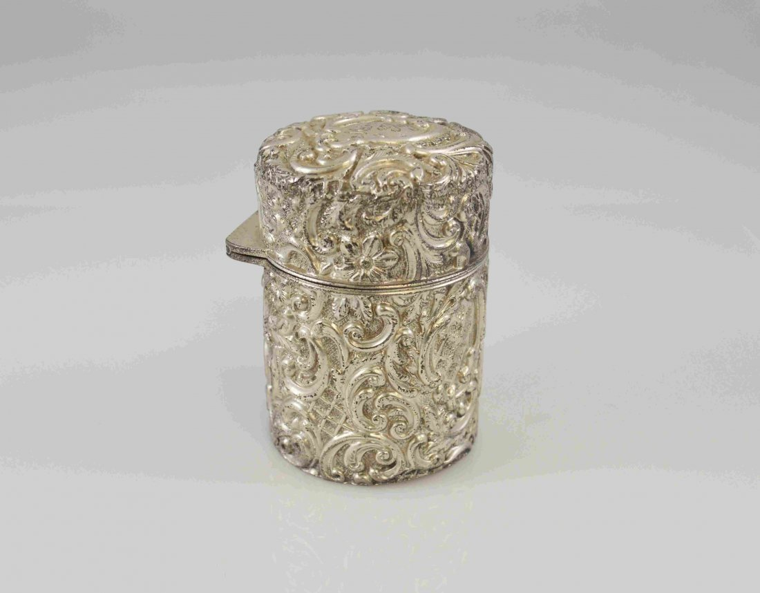 Antique English Sterling Silver Perfume