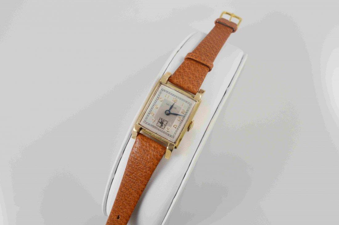 S. Kocher Geneva Mens 14K Wrist Watch