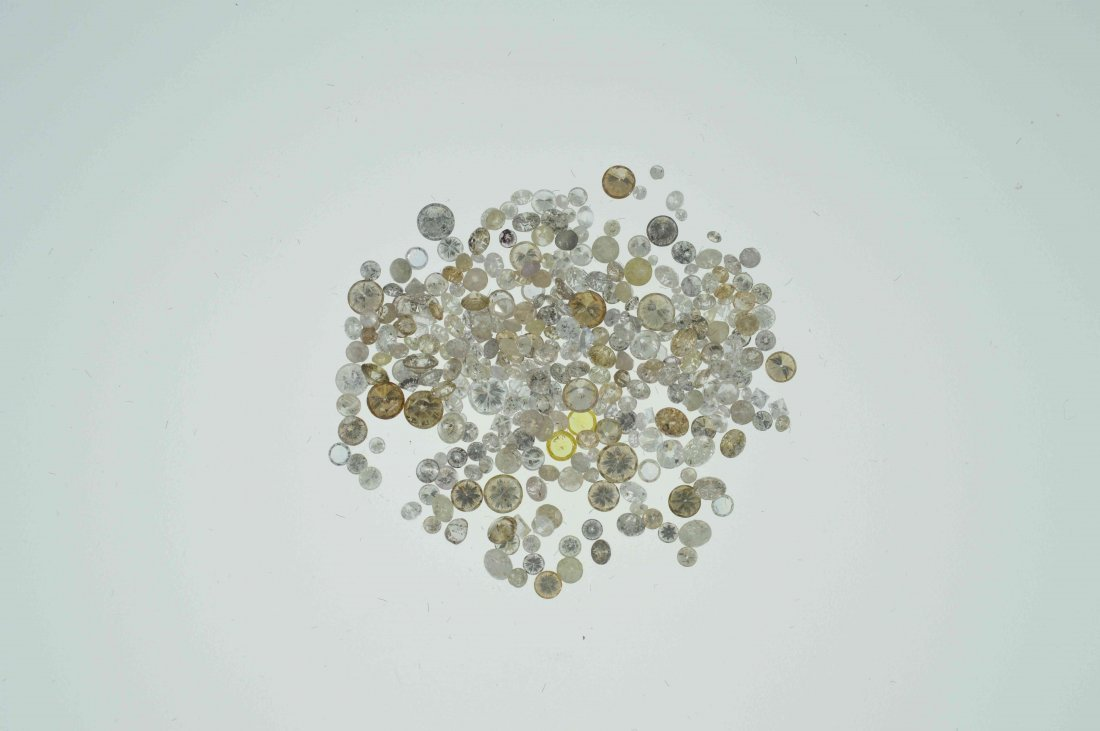 Parcel #3 10.03 CT Loose Mixed Lot of Diamonds
