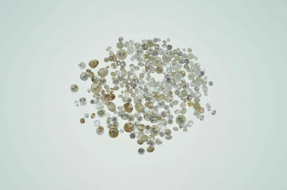 Parcel #5 10.20 CT Loose Mixed Lot of Diamonds