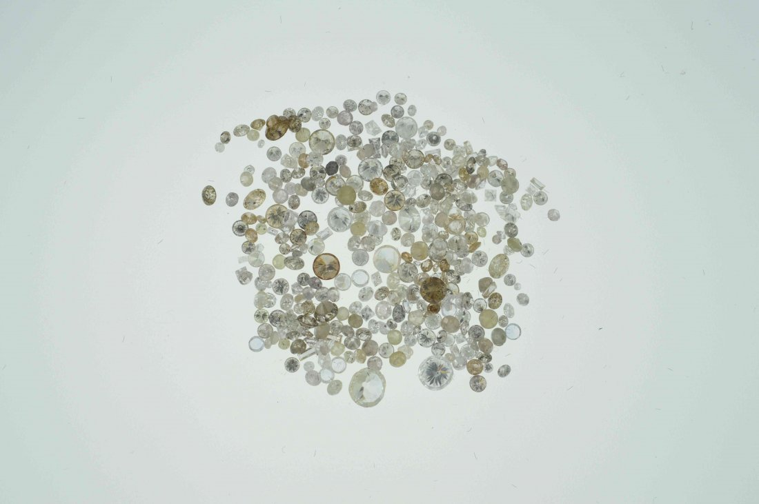Parcel #6 10.51 CT Loose Mixed Lot of Diamonds