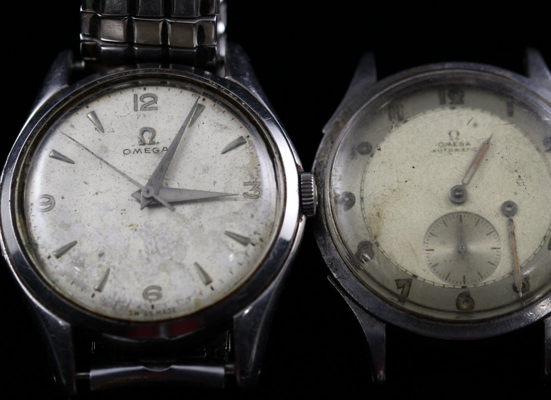 2 Omega Mens Wristwatches