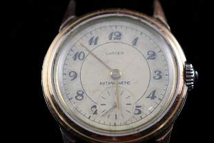 Movado Retailed by Cartier Mens Wristwatch