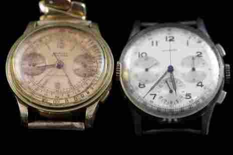 Coursier & Kelbert Chronograph Wristwatches