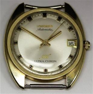 14k YG Longines Automatic Ultra Chron Wristwatch