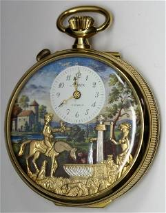 Arnex Reuge Swiss Automated Musical Pocket Watch