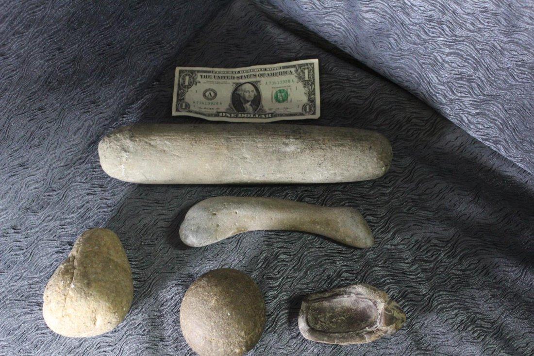 5 Native American Stone Tools