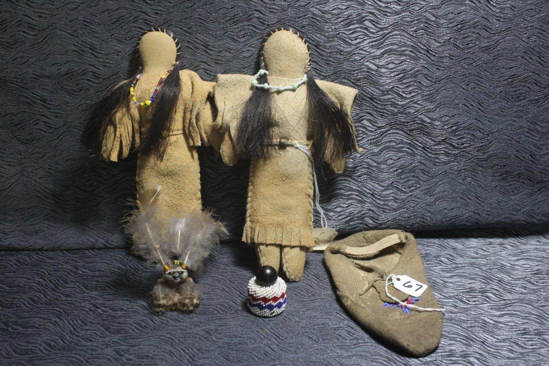 Native American Beaded Lot